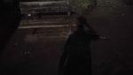 真夜中のベンチ