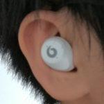 数千円の安物ワイヤレスイヤホンが意外と落ちない!耳のアソコに引っ掛かるから安心だよ(Pasonomi TWS-X9)
